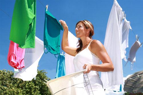 Giặt quần áo không cần nước