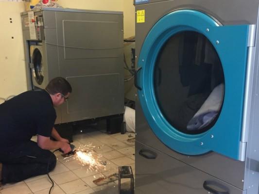 Bán máy giặt sấy công nghiệp Primer, Unimac, Domus