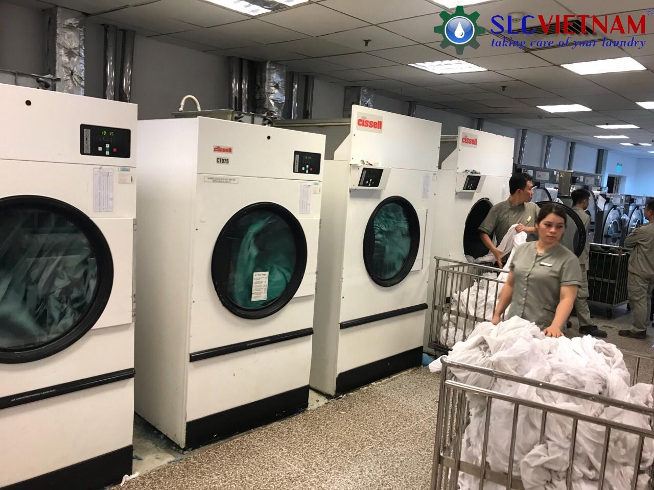 Dự án lắp đặt máy giặt sấy tại bệnh viện quốc tế Vinmec Hà Nội