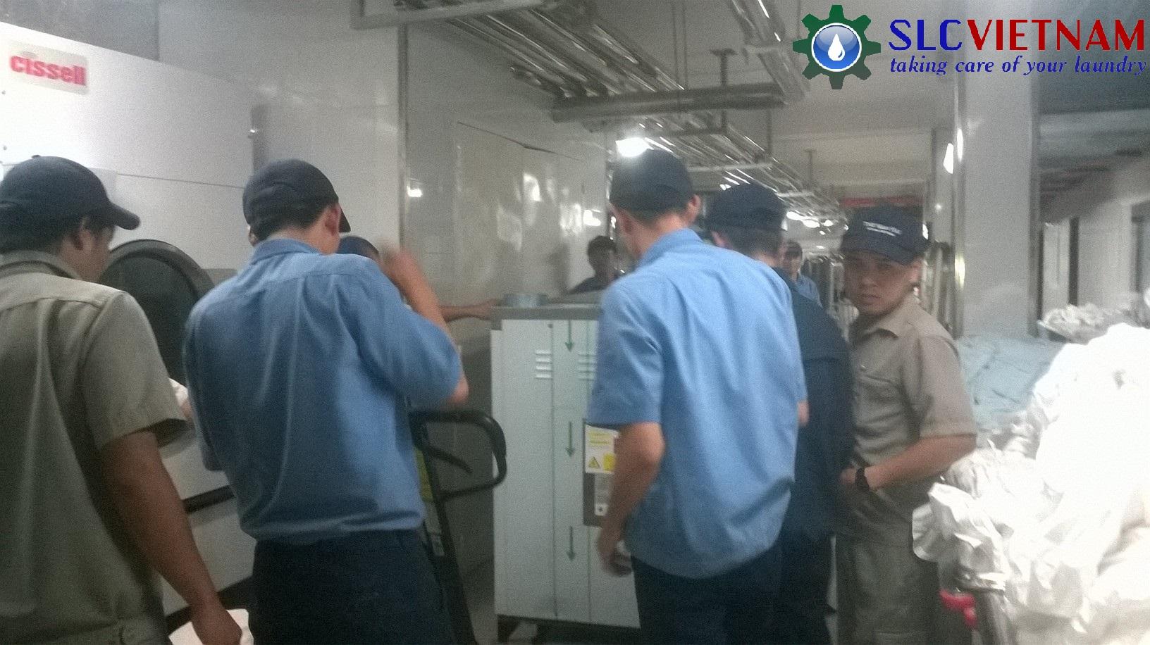 Dự án lắp đặt máy giặt, máy sấy công nghiệp cho Khách Sạn Resorts Nam Hải, Hội An