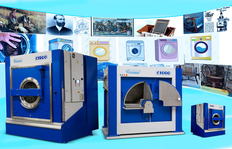 Lapauw - thương hiệu của máy giặt công nghiệp siêu tiết kiệm